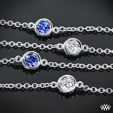 sapphire necklace diamonds images Color by the yard quot diamond and sapphire necklace 1318 jpg