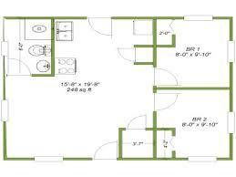 cabin floor plans 20 x 24 home deco plans