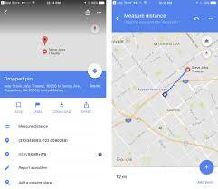 Google Maps Measure Distance Google Maps For Ios Now Lets You Measure Distance Iclarified