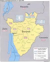 Rwanda Map Burundi Maps Perry Castañeda Map Collection Ut Library Online