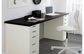 Ikea Long Wood Computer Desk For Two Decofurnish by Long Skinny Desk Ikea Desk Ideas