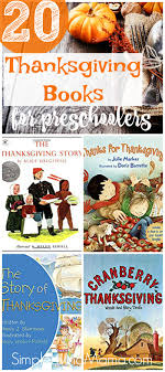 20 thanksgiving themed preschool books simple living