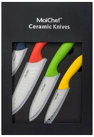 Kitchen Knives Amazon by Amazon Com Moichef 8 Piece Premium Ceramic Knife Set 4 Color