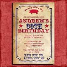birthday invites amazing bbq birthday invitations designs free
