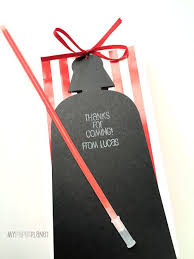 wars gift bags darth vader wars gift tags with glow stick lightsaber