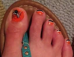 halloween toe nail art toe nail art pinterest halloween toe