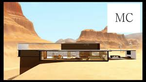 the sims 3 modern desert mansion hd youtube