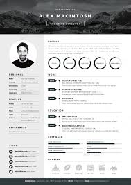 Website Resume Builder Mono Resume By Ikonome Graphicriver