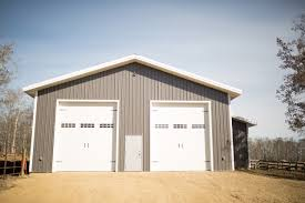 Shed Overhead Door by Design Options Building Solutions Ufa Co Operative Ltd