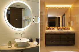 Lighted Vanity Mirrors For Bathroom Illuminated Vanity Mirror Contemporary Lighted Bathroom Vojnik