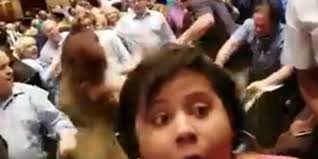adults brawl at arlington high graduation ceremony in tennessee