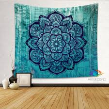 Bedroom Tapestry Wall Hangings Boho Tapestry Lotus Mandala Tapestry Wall Hanging Bohemian Decor