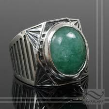 gem art rings images Buy a hand crafted men 39 s emerald signet ring art deco inspired jpg