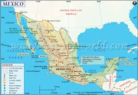 mexico in the world map mexico map map of mexico