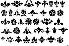 identifont fleuron ornaments