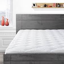 amazon com overfilled pillow top mattress pad twin xl home