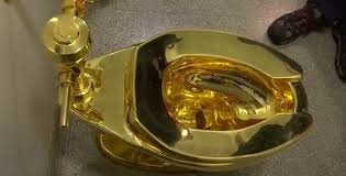trumps gold house donald trump offered gold toilet instead of van gogh painting white