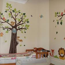 Decoration Baby Nursery Wall Decals by Bedroom Image Of Jungle Wall Decals For Kids Rooms Wall Decals