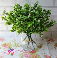 aliexpress com buy plastics greenery 5pcs artificial plant milan