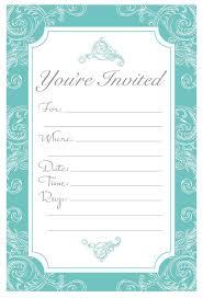 amazon com elegant turquoise fill in invitations wedding