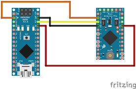 programming an arduino pro mini with another arduino
