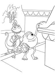 monsters coloring pages randall eliolera
