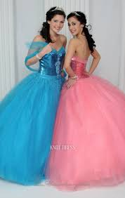 quinceanera pink dresses charming gown sky blue or pink strapless sweetheart