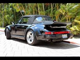 1987 porsche 911 slant nose 1987 porsche 911 turbo cabriolet 930 factory slantnose for sale in