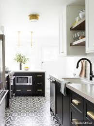 black kitchen cabinets two tone kitchen cabinets to inspire your next redesign