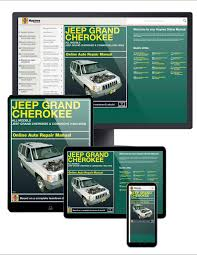 jeep grand cherokee 93 04 haynes online manual haynes manuals