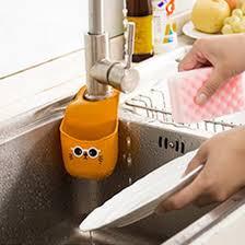 Suction Sponge Holder Sink by 1pcs Kitchen Sink Shelving Bag Dish Cloths Rack Suction Sponge