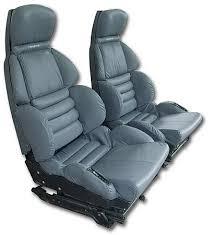 corvette seat covers c4 1991 1992 corvette sport seat leather seat covers set