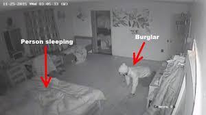 Live Bedroom Cam Video Shows Queens Home Invasion Suspect Creeping Around Bedroom
