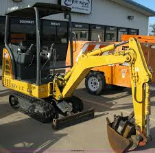 new holland ec15 mini excavator item 5091 sold august 3