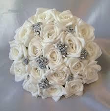 wedding flowers roses artificial wedding bouquets uk artificial wedding flowers brides
