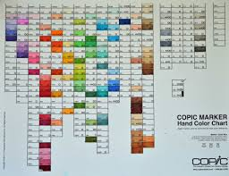 9 best images of copic color chart printable blank copic sketch