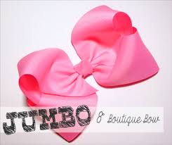 hair bow center jumbo 8 inch boutique hair bow the hairbow center
