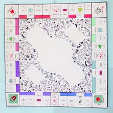 monopoly map diy personalised monopoly board