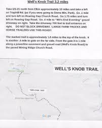 Blue Ridge Mountains Map Trail U0026 Town Excursions Mountains To Sea Trail