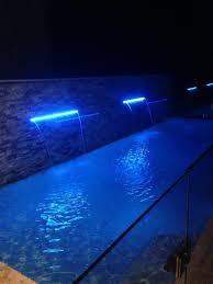 Pool At Night Pool At Night Freedom Pools