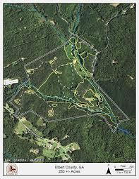 Georgia Road Map Indian Hill Road Land For Sale Elberton Elbert County