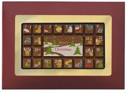 weibler chocolate advent calendar 70g