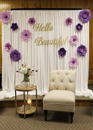 Bridal Shower Centerpiece Ideas by Bridal Shower Decor Special Event Decor Purple Bridal Shower