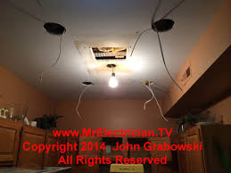 Installing Can Lights In Ceiling Installing Recessed Lighting In A Condominium Kitchen