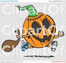 halloween clip art with transparent background royalty free rf clip art illustration of a cartoon running