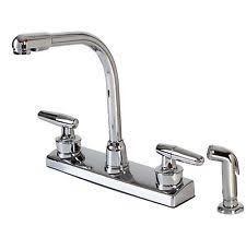 ebay kitchen faucets aspen andes kitchen faucet arcylic chrome two handle high rise