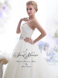 robe de mariã e sur mesure pas cher robes de mariee princesse bustier dentelle et jupe en tulle