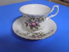 royal albert bronze gold floral tea cup u0026 saucer fragrance
