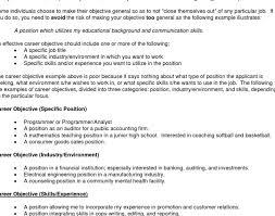 latest style of resume examples of a good objective for a resume how to write a career