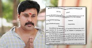 Seeking Ernakulam Points Dileep S Advocate Told High Court While Seeking Bail
